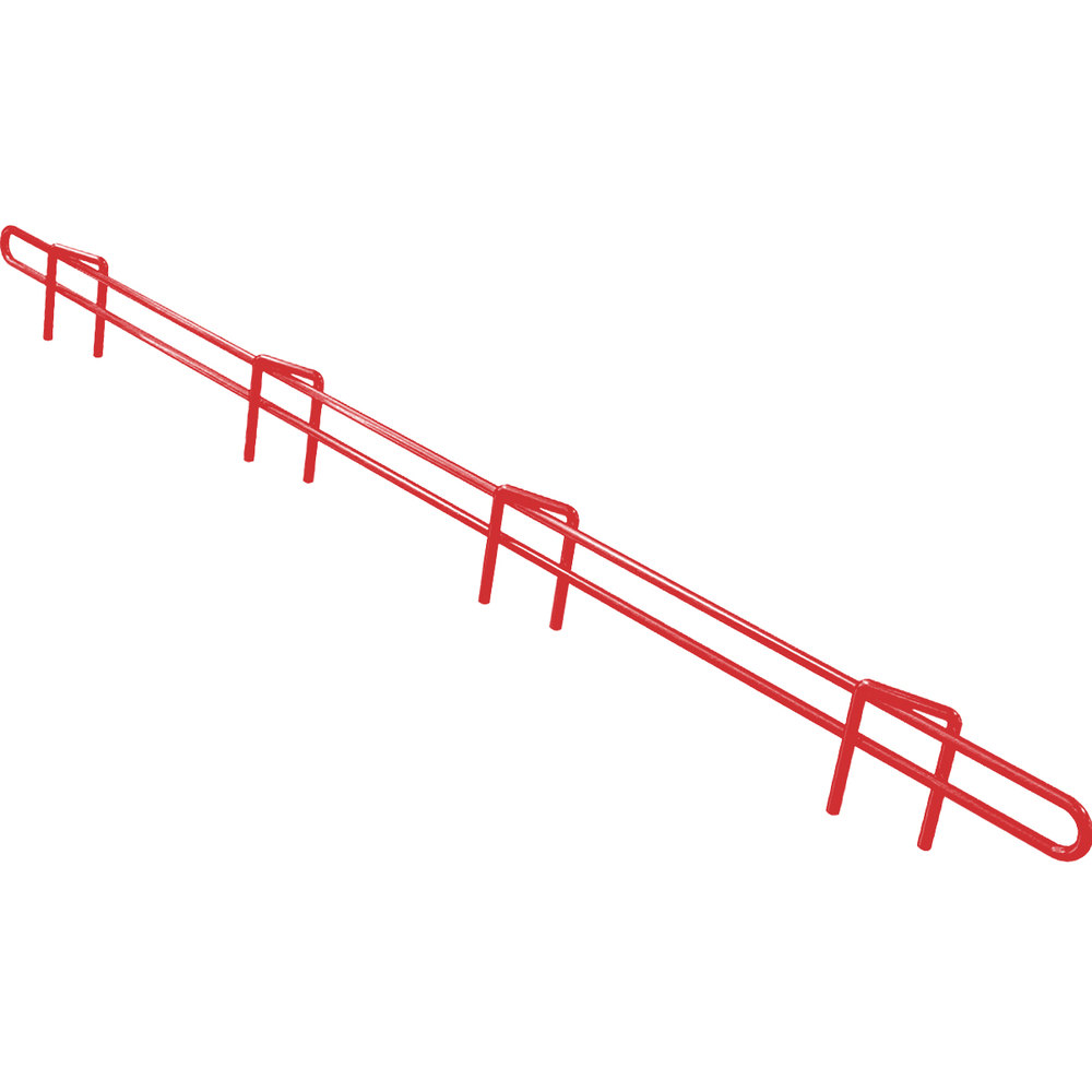 "Metro L36N-1-DF Super Erecta Flame Red Ledge 36"" x 1"""
