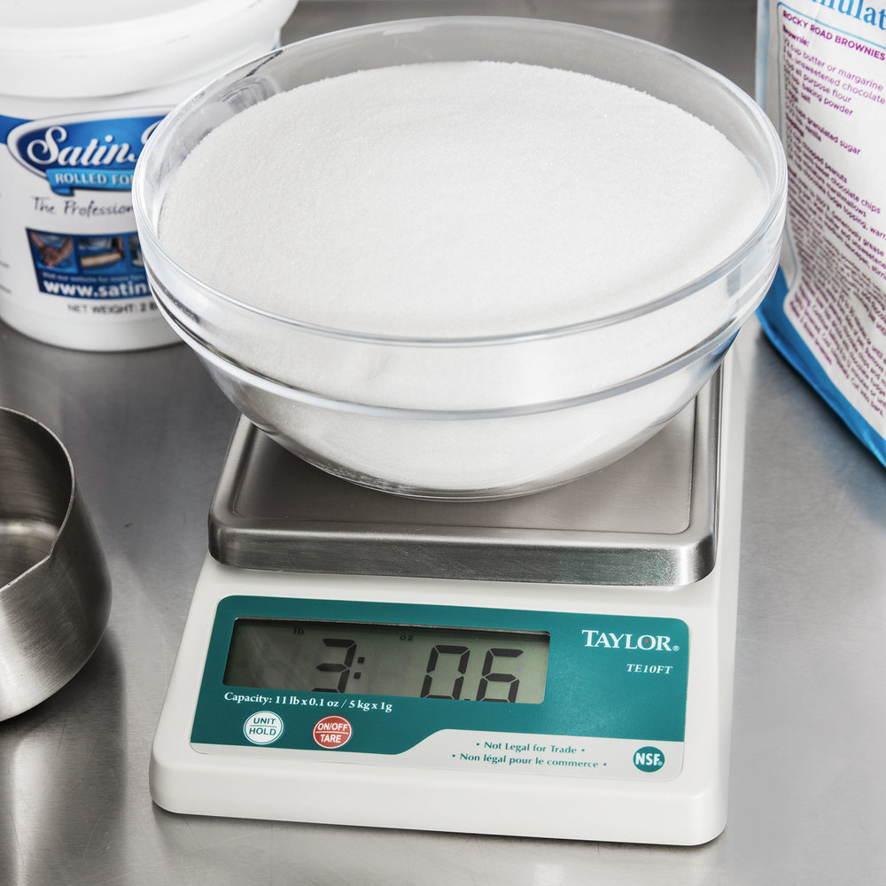 Taylor TE10FT 11 lb. Compact Digital Scale