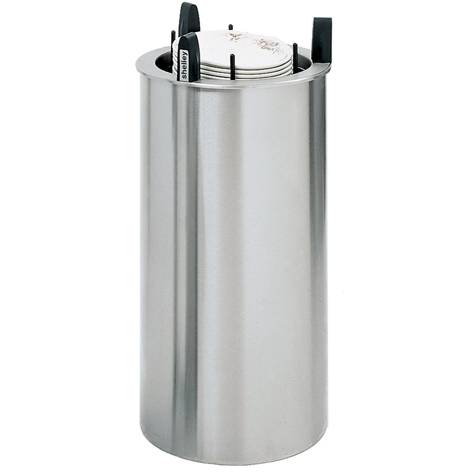 """Delfield DIS-650-ET Even Temp Heated Drop In Dish Dispenser for 5 3/4"""" to 6  1/2"""" Dishes"""