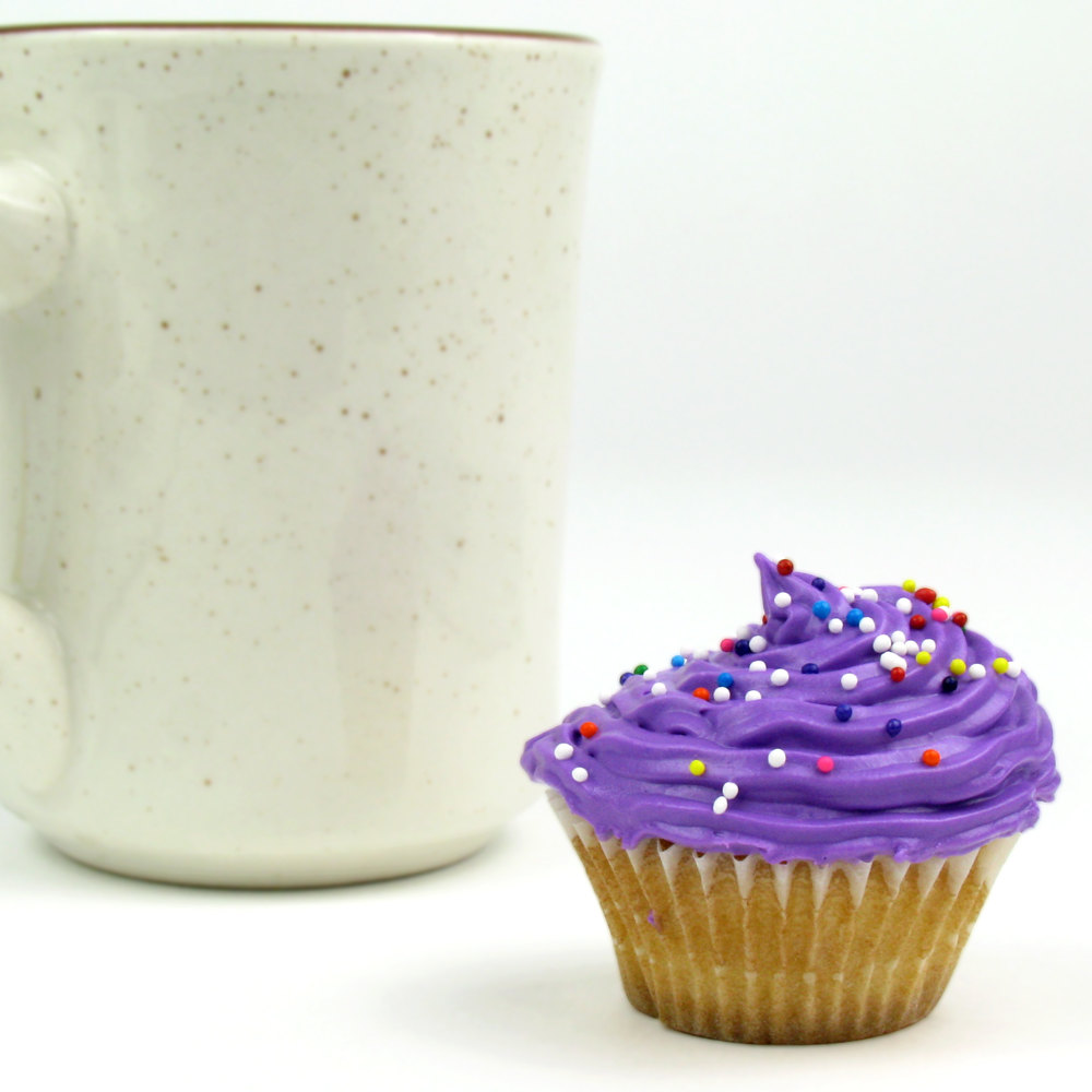 "White Fluted Baking Cup 1 1/4"" x 7/8"" - 10000/Case"