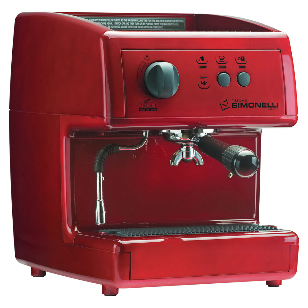 Nuova Simonelli Mop1400104 Red Ground Red Oscar