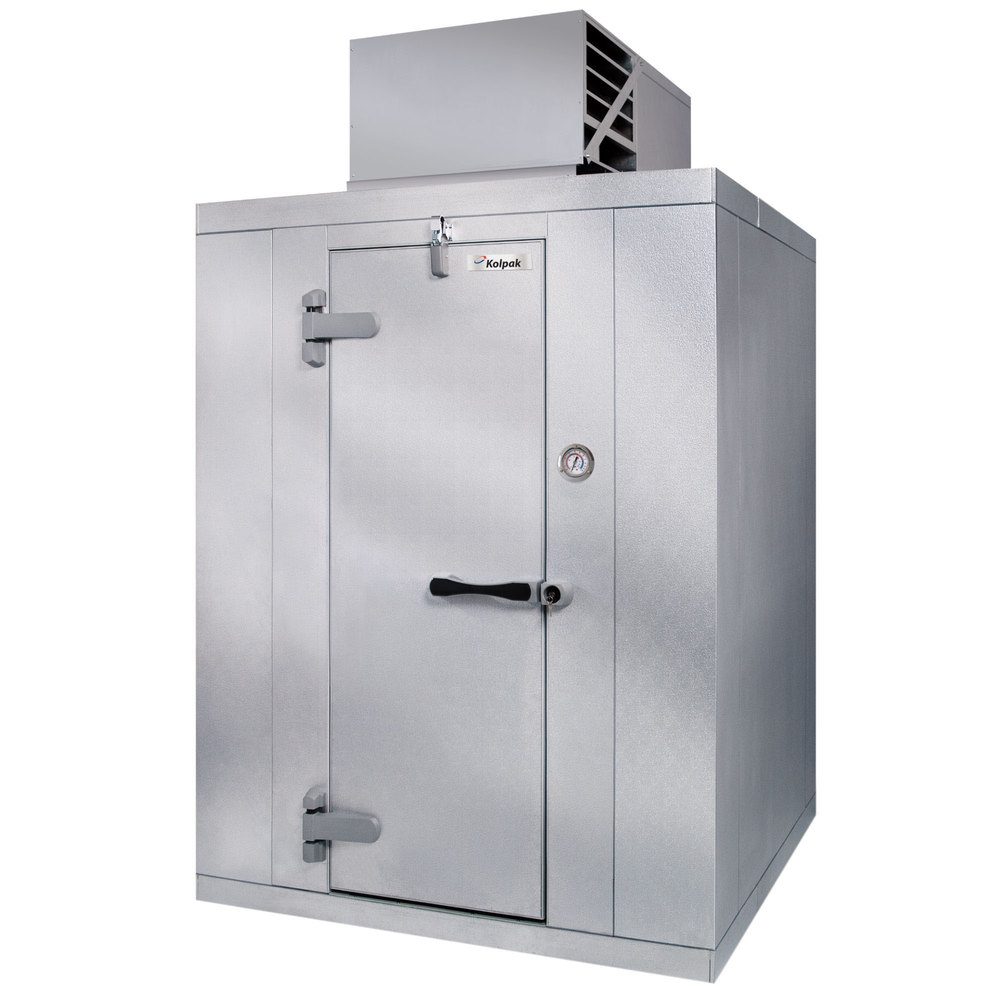 Kolpak P7-1010-CT Polar Pak 10' x 10' x 7' Indoor Walk-In Cooler with Top  Mounted Refrigeration