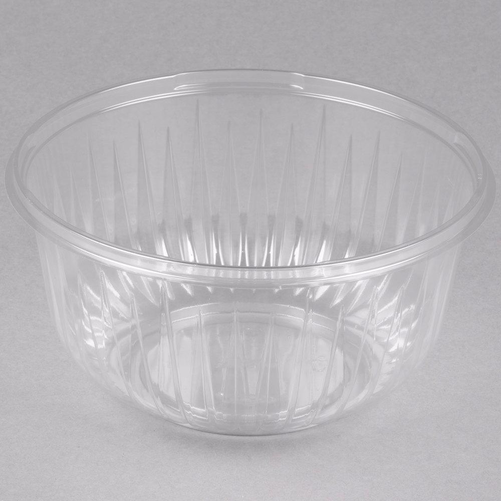 Dart C48b Presentabowls 48 Oz Clear Plastic Bowl 252 Case