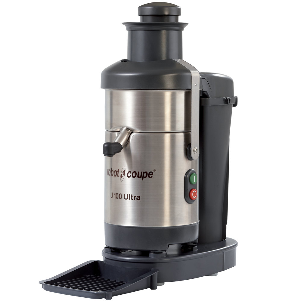 robot coupe j100 ultra juicer with continuous pulp