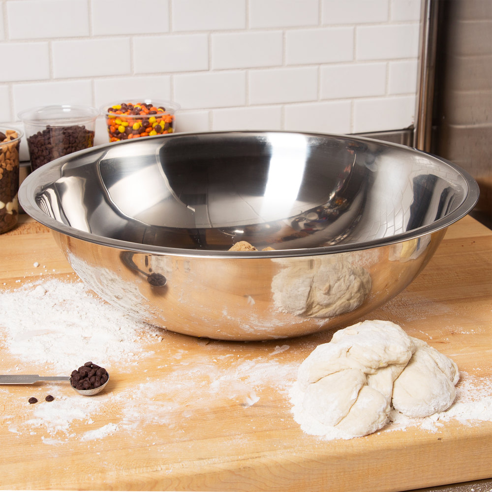 13 Qt. Standard Weight Stainless Steel Mixing Bowl