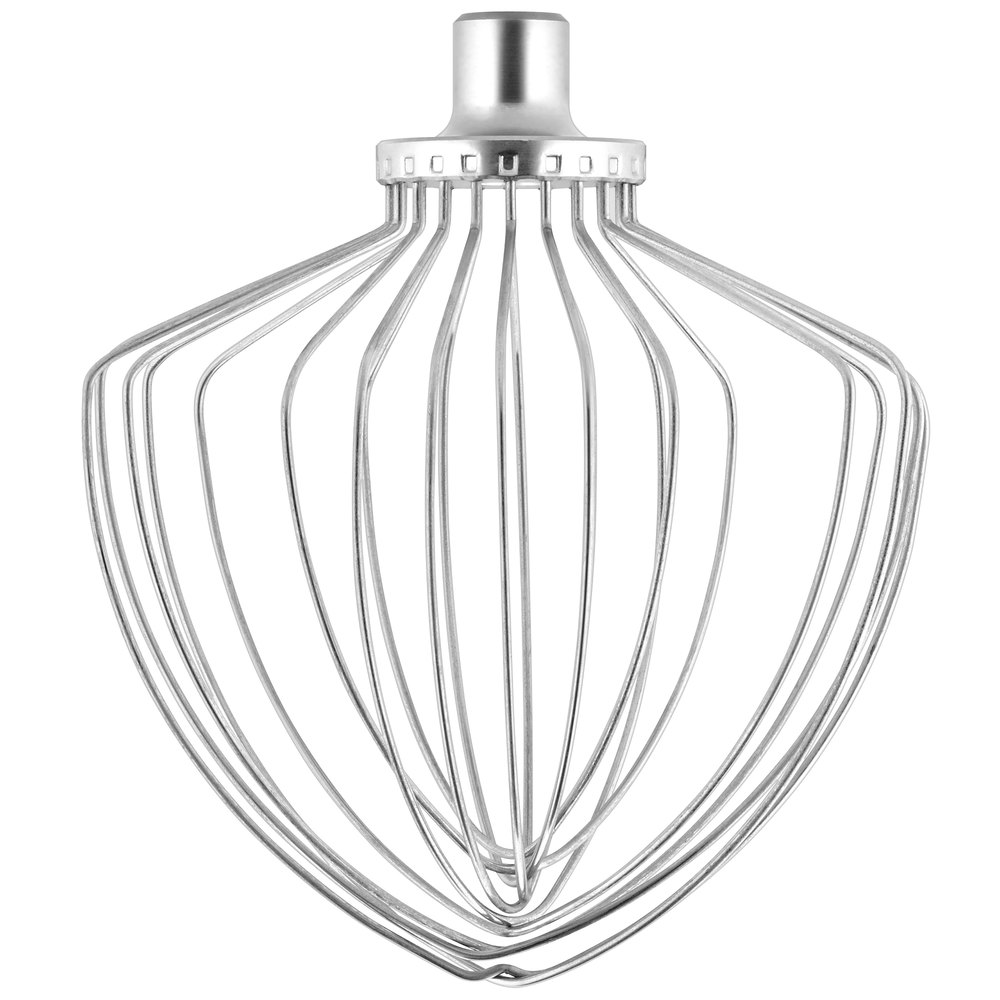 kitchenaid ksmc7qew stainless steel nsf elliptical wire
