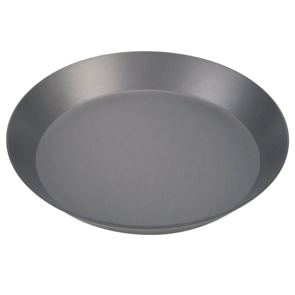 "American Metalcraft CAR10HC 10"" Hard Coat Anodized Aluminum CAR Pizza Pan"
