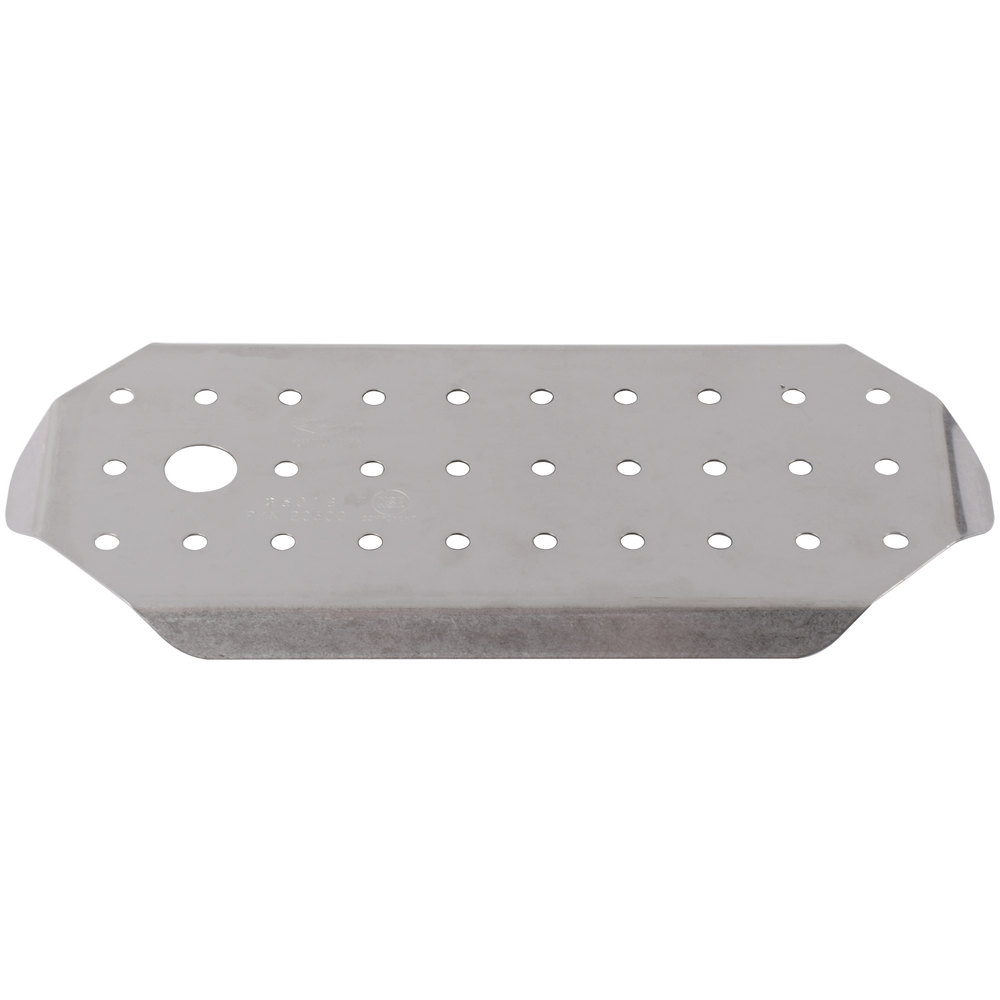 Vollrath 20300 Super Pan V 1/3 Size Stainless Steel Steam Table / Hotel Pan False Bottom