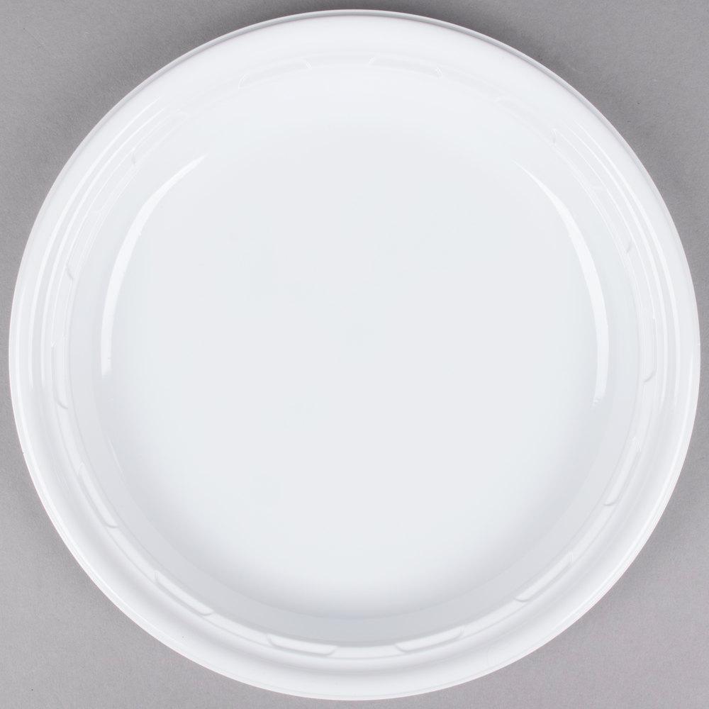 Dart 9pwf 9 Quot White Famous Service Impact Plastic Plate