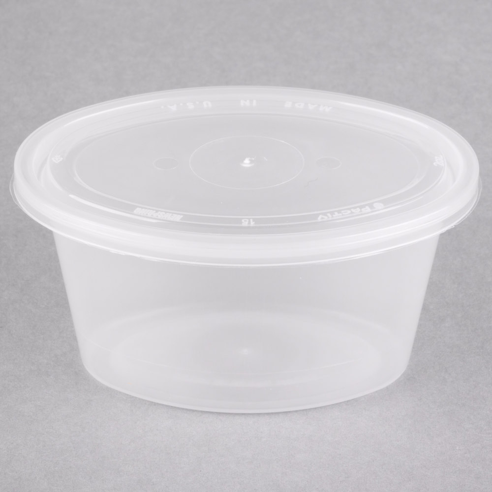 Newspring Ye502 Ellipso 2 Oz Clear Oval Souffle Portion