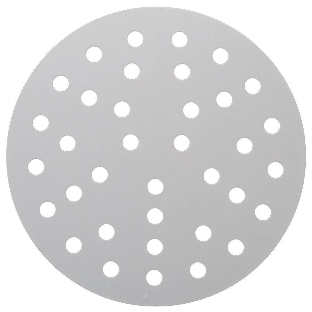 "American Metalcraft 18917PHC 17"" Perforated Pizza Disk - Hard Coat Anodized Aluminum"