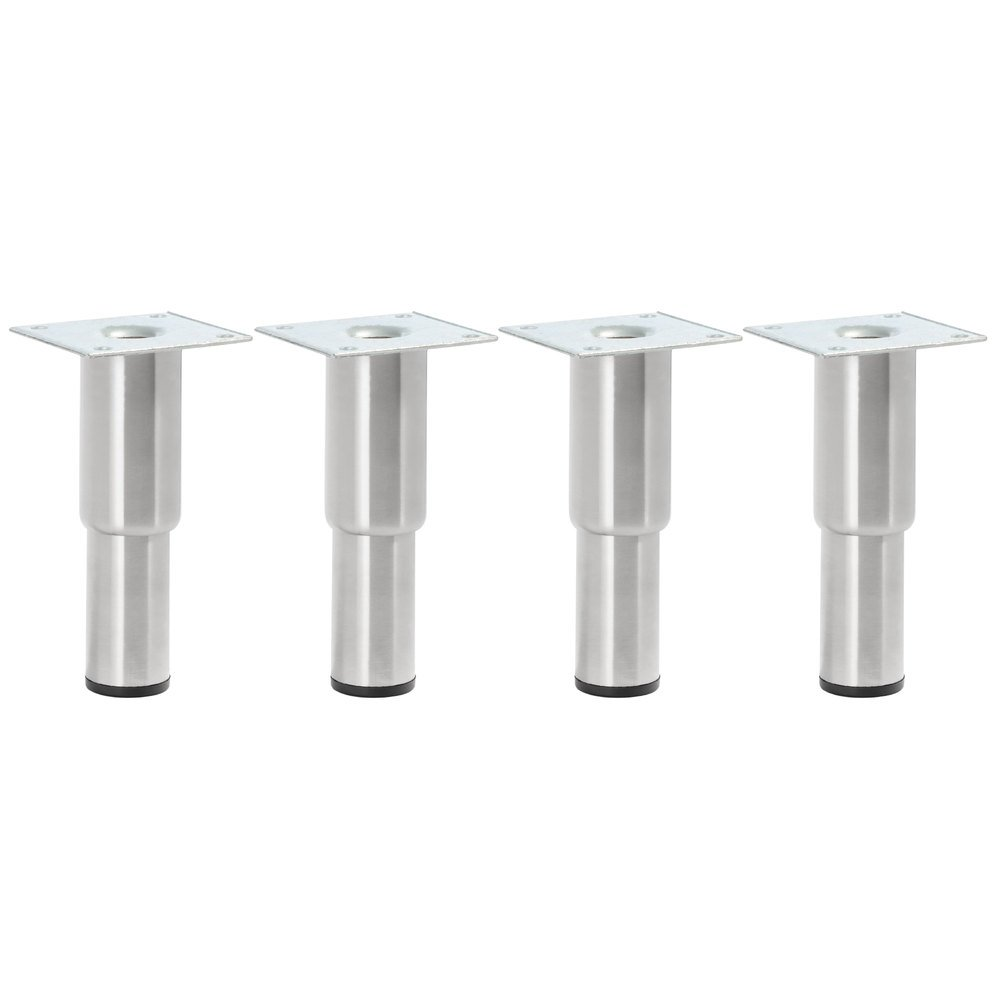 Regency 5 inch - 7 inch Adjustable Stainless Steel Legs - 4/Set