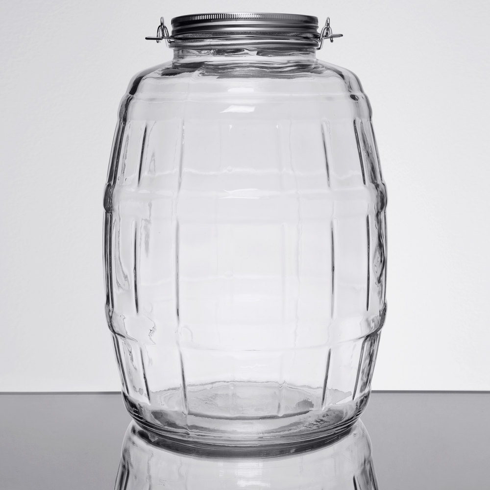 Gallon Glass Jar With Lid