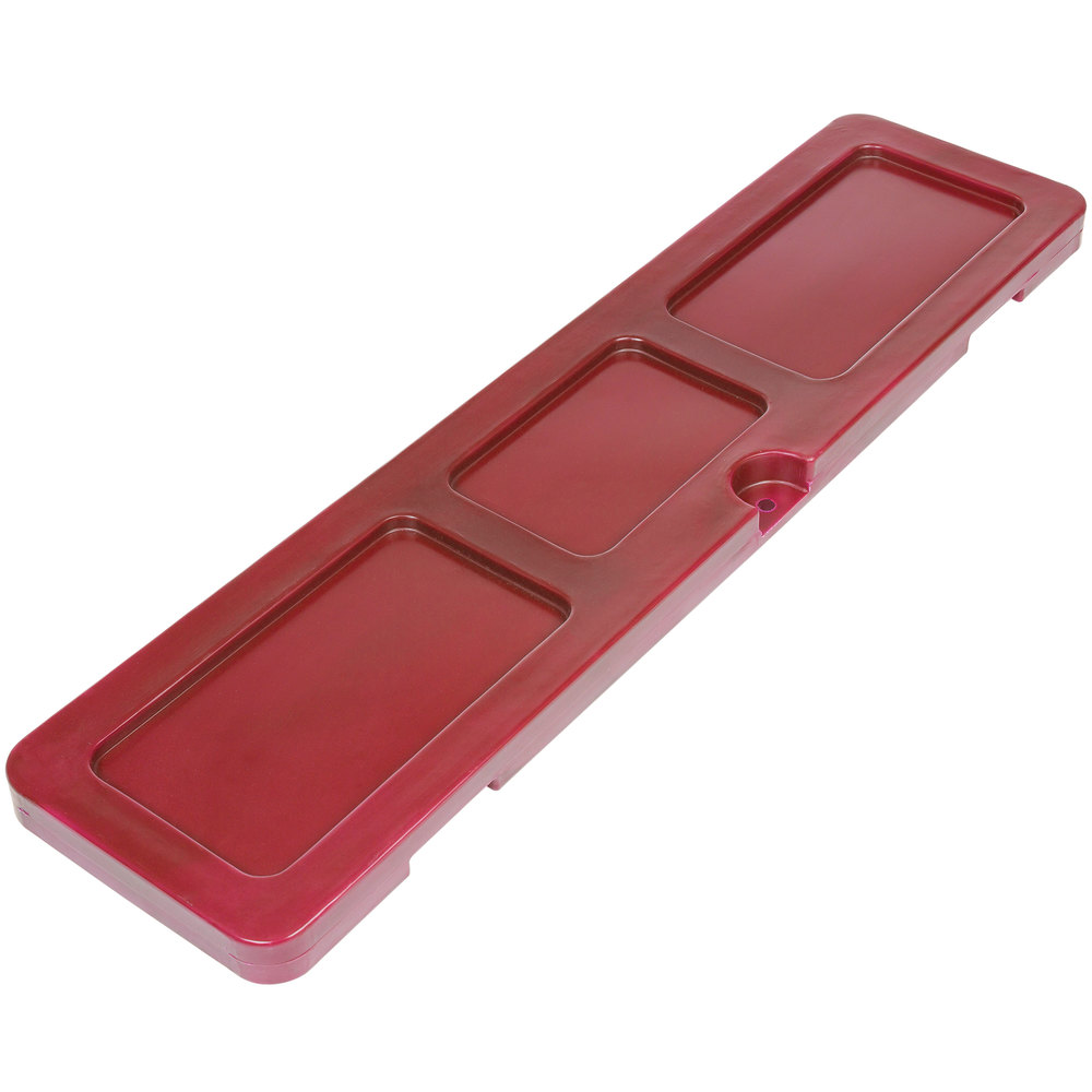 Red Locking Lid for Arctic 720 Mobile 288 Qt. Cooler