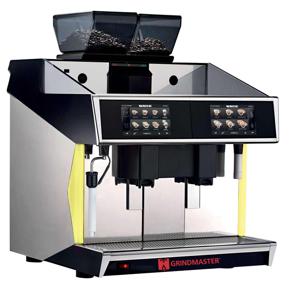 Grindmaster Tango ST Black Dual Group Espresso and Cappuccino Machine -  208V, 8700W