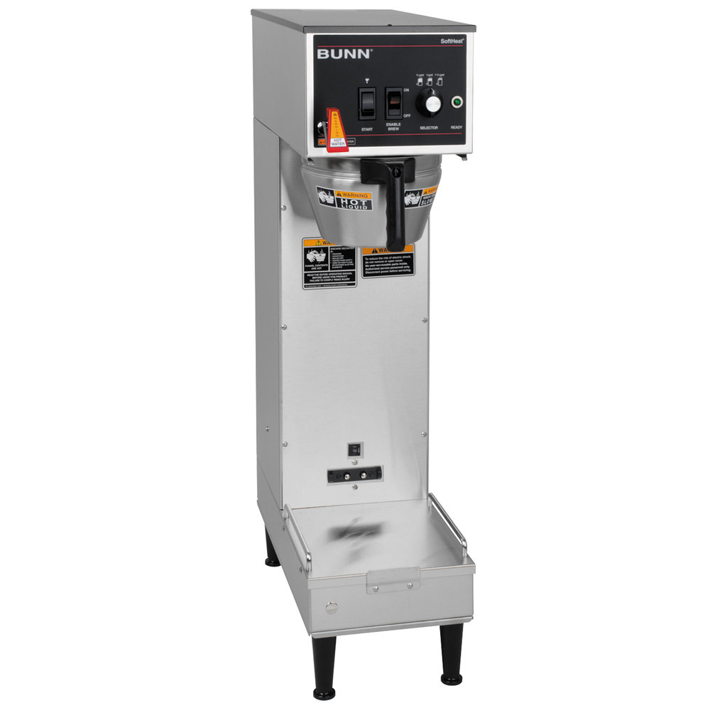 Bunn 27800.0009 Single Soft Heat Brewer - 120V, 2100W