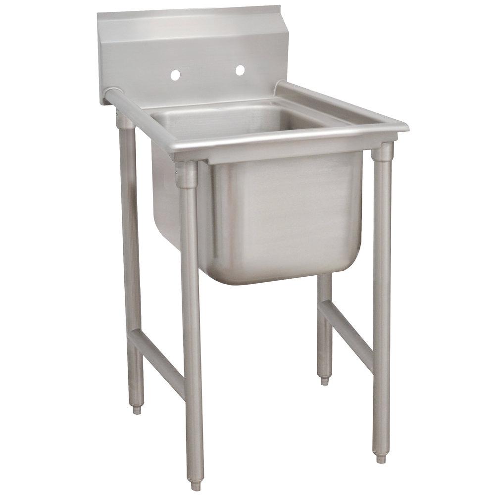 Advance Tabco 9-21-20 Super Saver One Compartment Pot Sink - 29