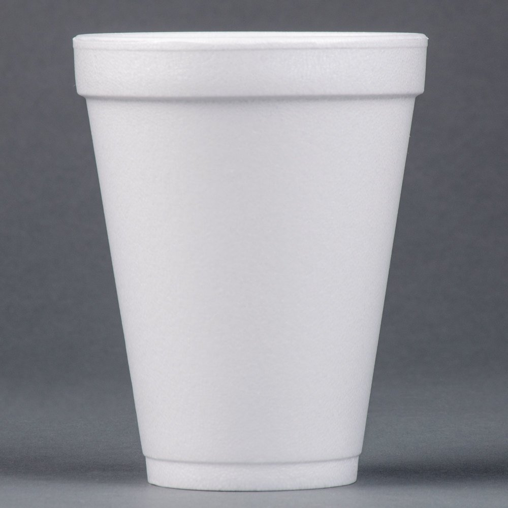 Dart Solo 12j12 12 Oz White Foam Cup 25 Pack
