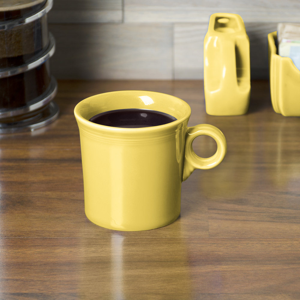 Homer Laughlin 453320 Fiesta Sunflower 10.25 oz. Mug - 12 / Case