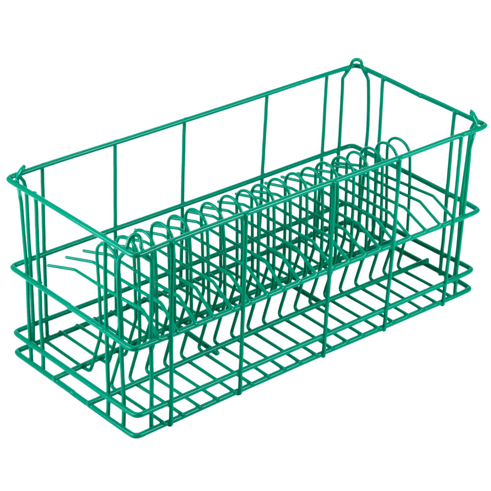 "20 Compartment Catering Plate Rack for Salad Plates up to 7 1/2"" - Wash, Store, Transport"