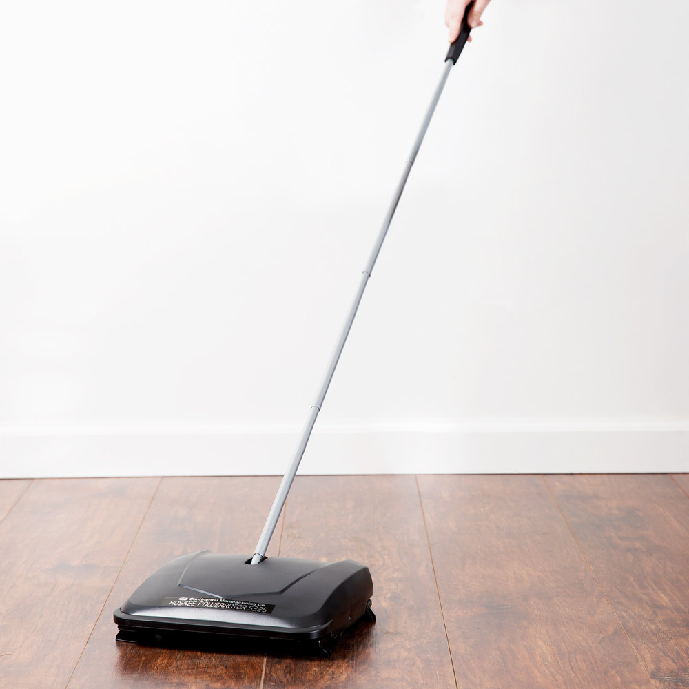 "Continental 5325 Huskee PowerRotor 9 1/2"" Brushless Floor Sweeper"