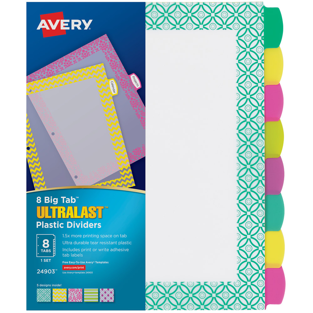 21 Avery 21 Tab Label Template - Label Design Ideas 21 Throughout 8 Tab Divider Template Word