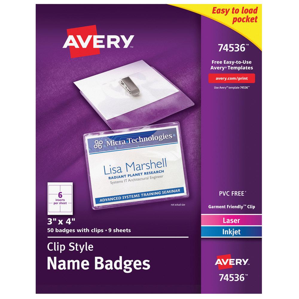 Avery 74536 4