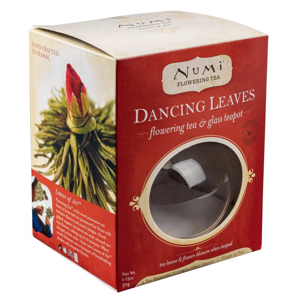 sc 1 st  WebstaurantStore & Numi Dancing Leaves Flowering Tea 6 Piece Set