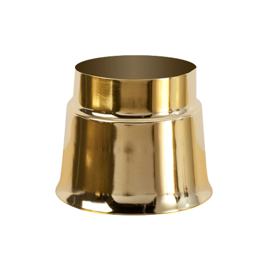Sterno Products 85226 Polished Brass Sleeve Lamp Base