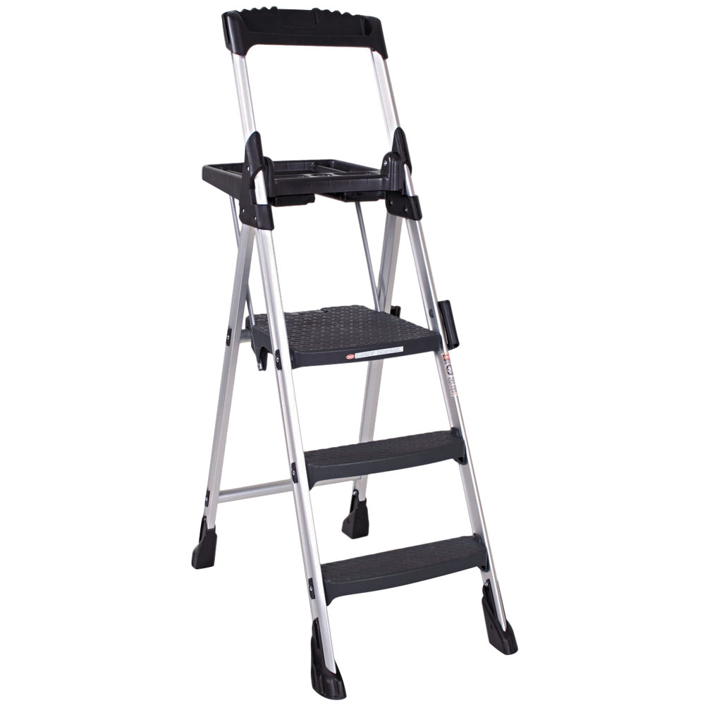 Cosco 11003abl1 Worlds Greatest Step Stool Aluminum 3 Step