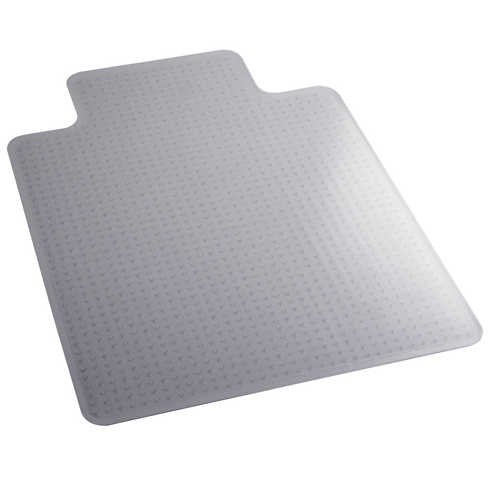 Es Robbins Everlife Hard Floor Rectangle Vinyl Chair Mat 45 By 53 Inch Clear