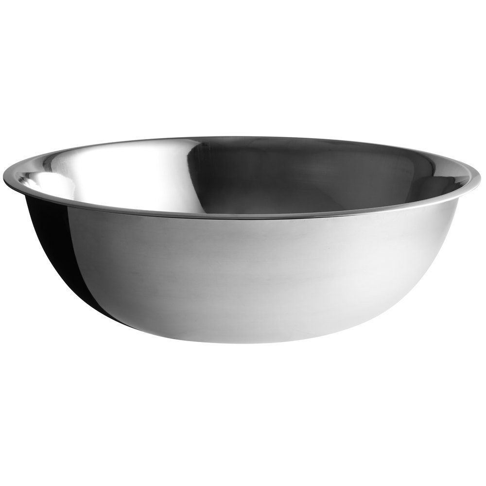 1 Pieces Stainless Steel Metal Deep Mixing Bowl Caterer Salad Pasta Useful Tools