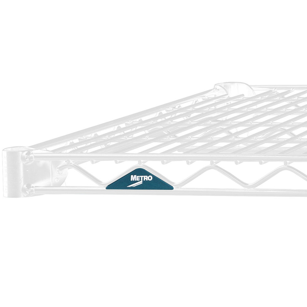 "Metro 2460NW Super Erecta White Wire Shelf - 24"" x 60"""