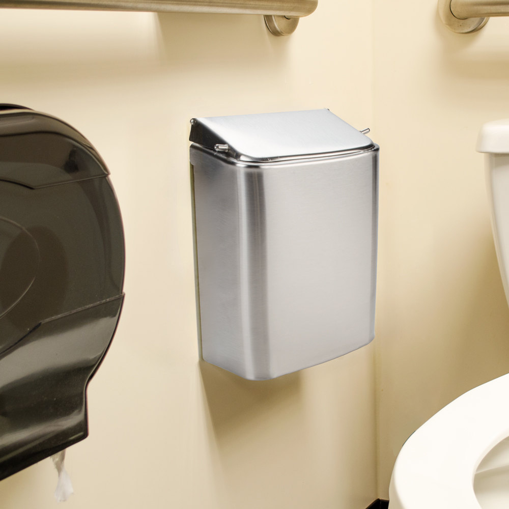 Rubbermaid 11ss Stainless Steel Sanitary Napkin Wall Mount