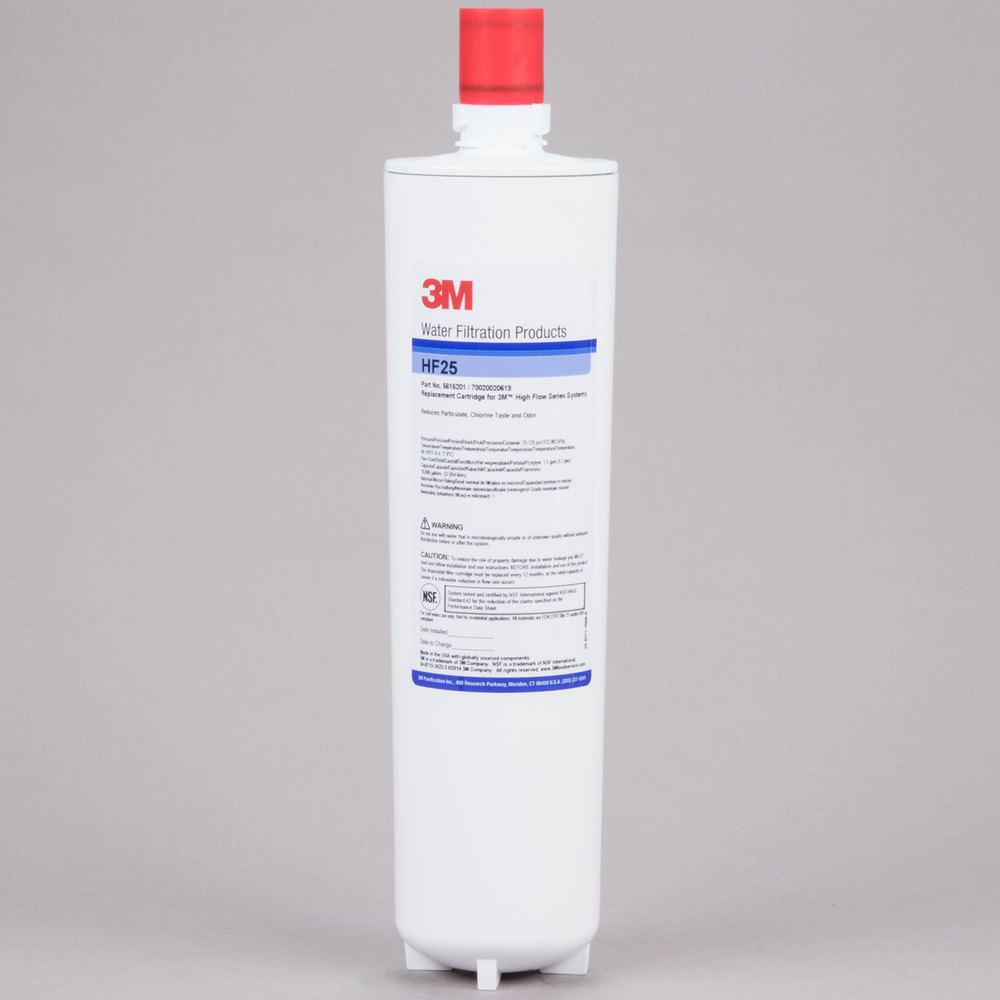 3M Cuno HF25 Sediment, Chlorine Taste and Odor Reduction Cartridge - 1 Micron and 1.5 GPM
