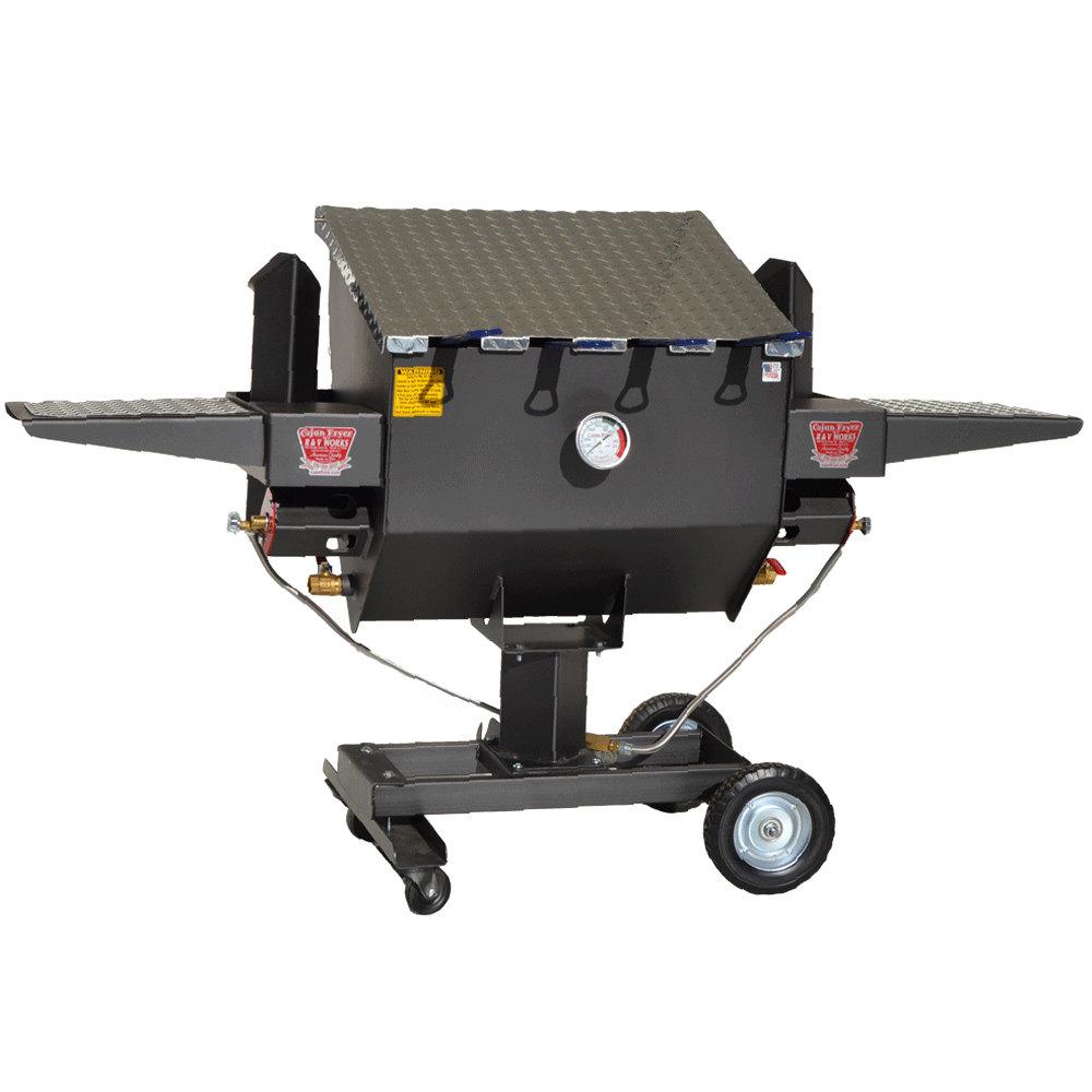 R Amp V Works Ff4 12 Gallon Outdoor Cajun Deep Fryer