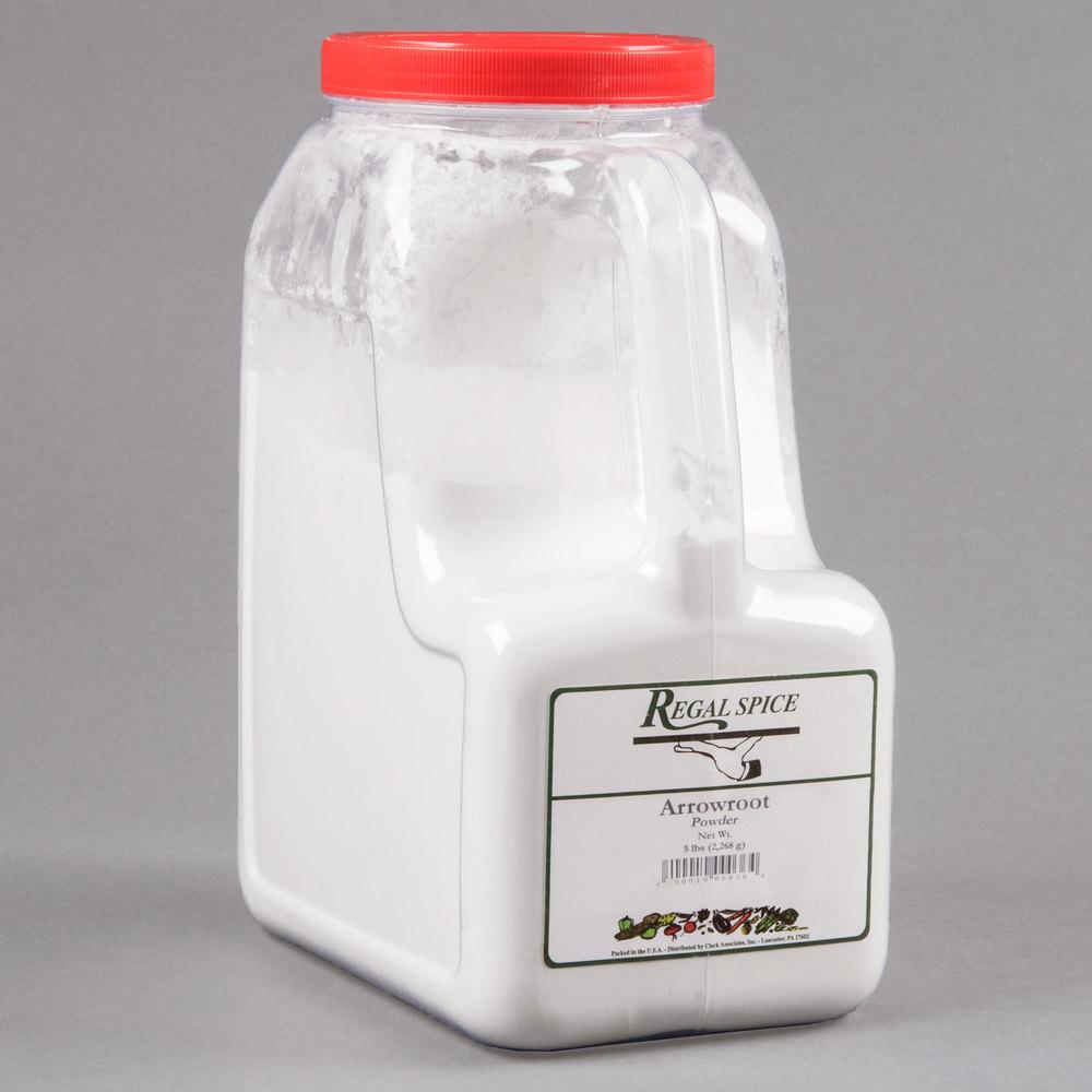 Regal bulk arrowroot powder 5 lb