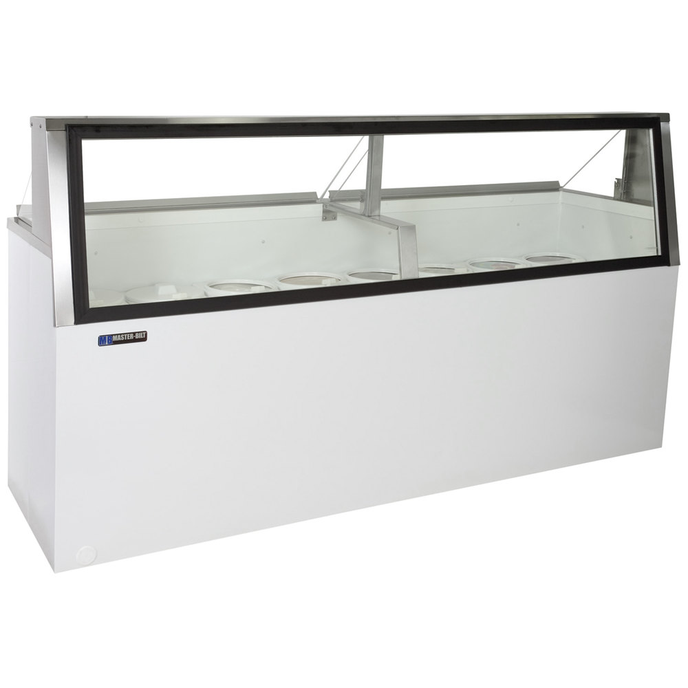 Low Glass Cabinet Bilt Dd 88l 91 Low Glass Ice Cream Dipping Cabinet
