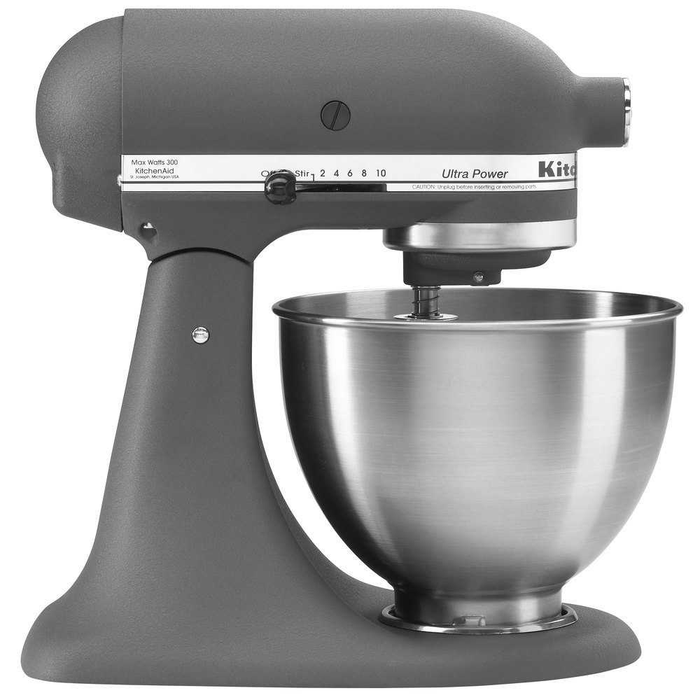 Grey Kitchenaid Mixer: KitchenAid KSM95GR Gray Ultra Power Series 4.5 Qt