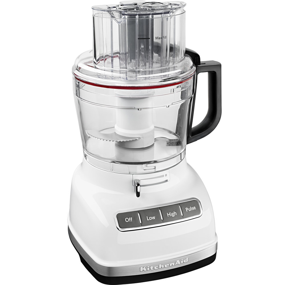 KitchenAid KFP1133WH White 11 Cup Food Processor With ExactSlice System