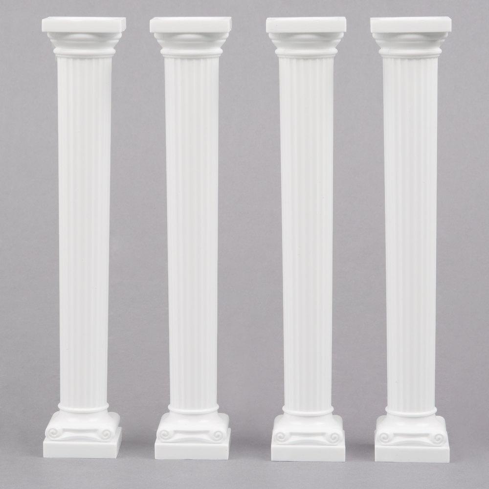 Wilton 303 3705 Grecian Cake Pillars 4 Pack
