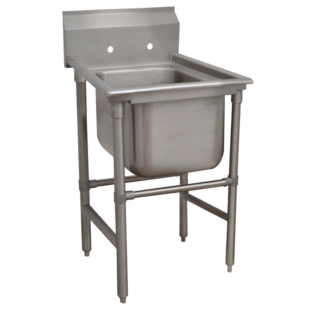 Advance Tabco 94-61-18 Spec Line One Compartment Pot Sink - 27""