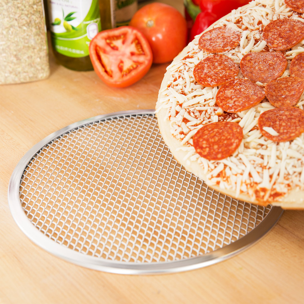 "10"" Aluminum Pizza Screen"
