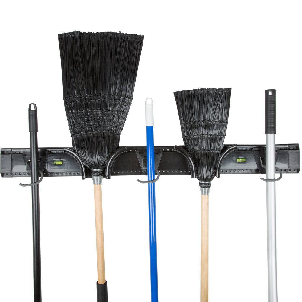 36 Quot Adjustable Mop And Broom Rack