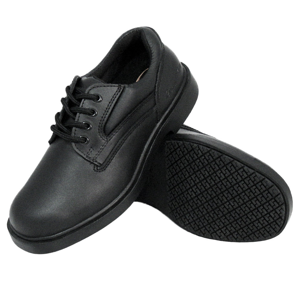 popular brand competitive price big sale Genuine Grip 710 Women's Black Oxford Steel Toe Non Slip Shoe