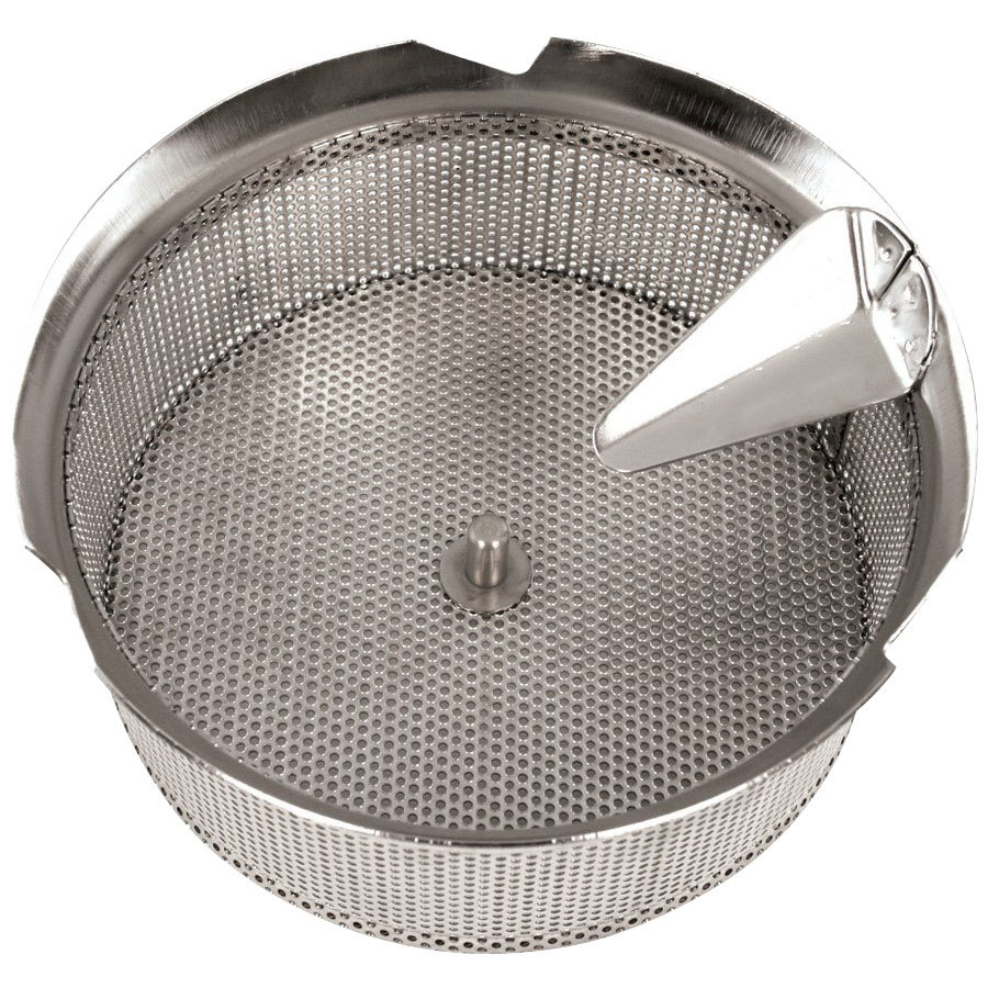 "Tellier X5010 Stainless Steel 1/32"" (1 mm) Basket Sieve for Food Mill"