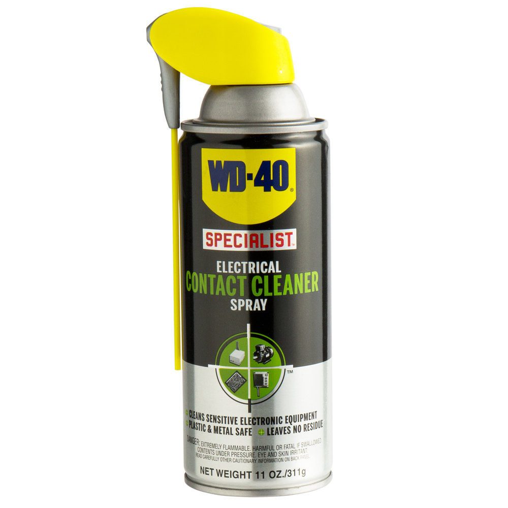 wd-40 300554 specialist 11 oz  electrical contact cleaner spray  case