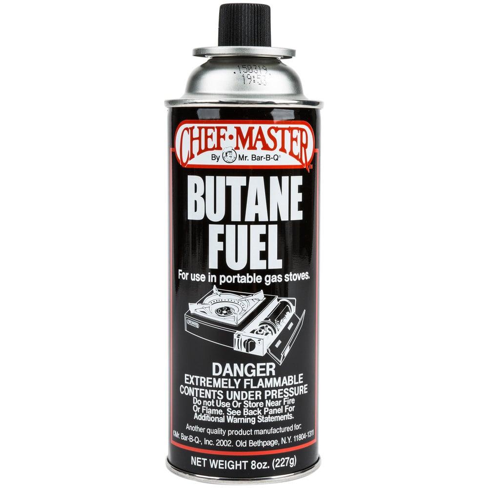 Butane Fuel Refill 8 Oz Canister 12 Case