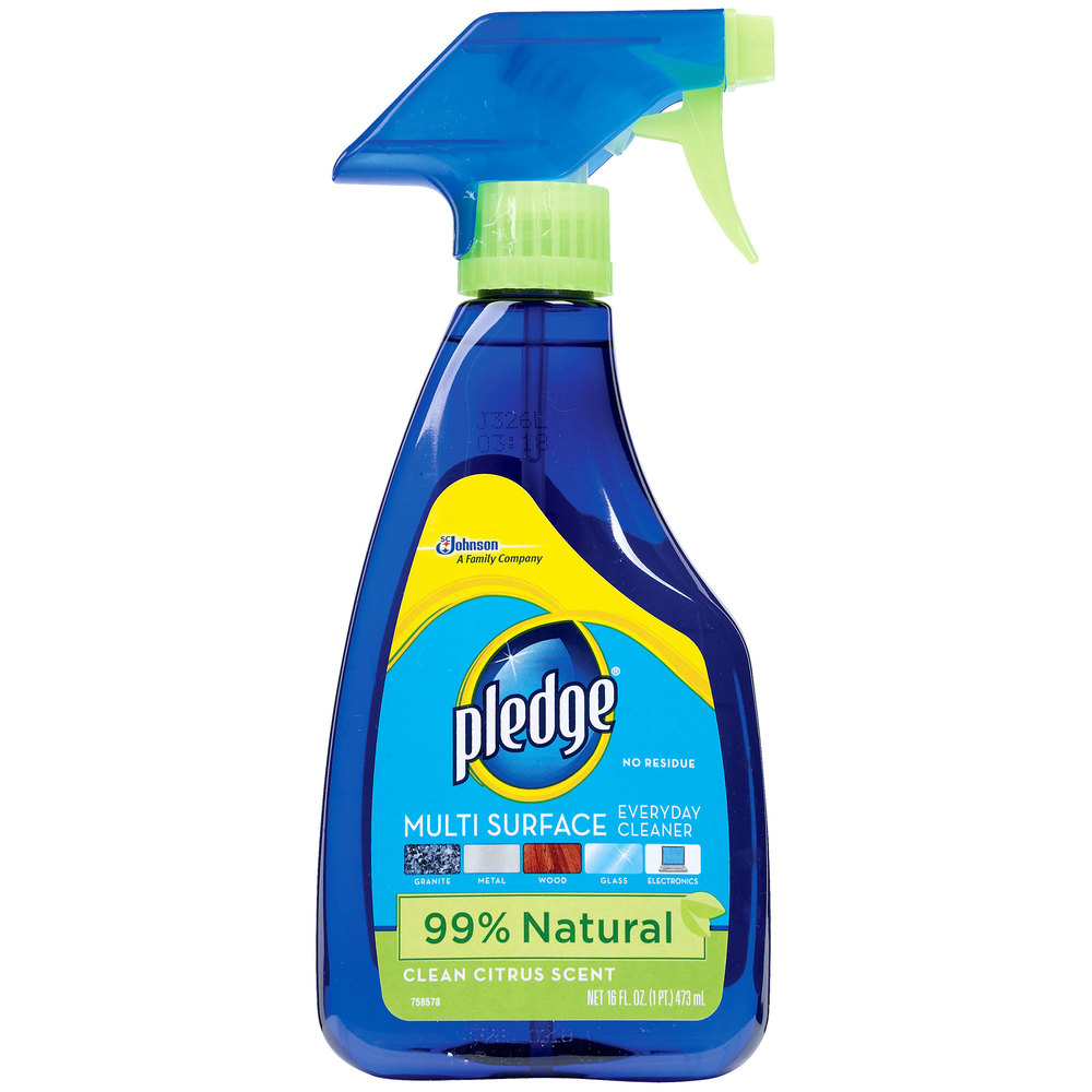 Diversey Pledge CB703123 16 oz. Trigger Sprayer Multi-Surface Cleaner / Duster