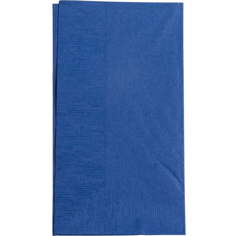 Navy Blue Paper Dinner Napkin Choice 2 Ply 15 Quot X 17